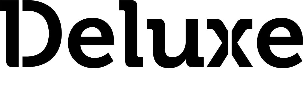 Deluxe Homes logo.
